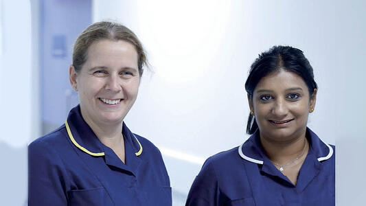 Nurses at Wellspect