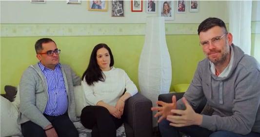 Martin Schenk im Interview mit Familie Sicken