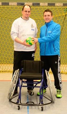Andreas Giebert und Christoph Kimling