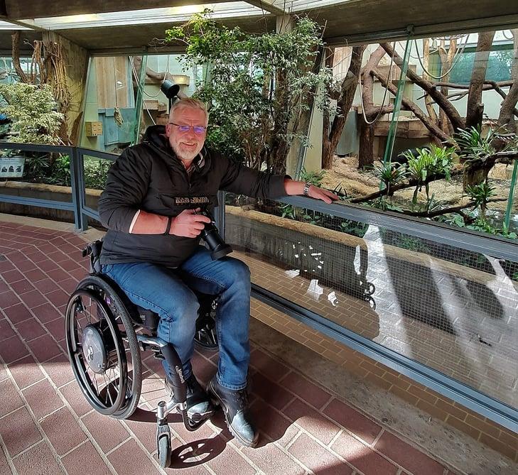 Hans-Jürgen im Wuppertaler Zoo